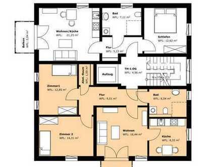 72 m², neuwertige 3-Zimmer-Wohnung mit Balkon, Grünheide (Mark)