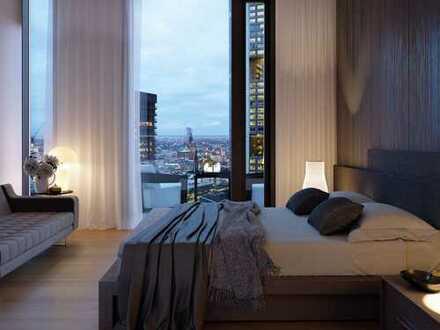 IN THE HEART OF THE SKYLINE: Großzügige 3-Zimmer-Wohnung mit großer Terrasse