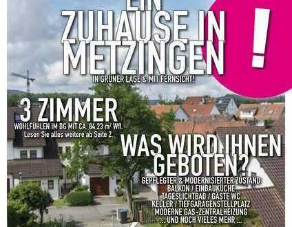 Ein Zuhause in Metzingen - Fernsicht und Blick ins Grüne