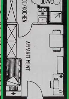 Freundliche, gepflegte 1-Zimmer-Wohnung als Kapitalanlage in Mannheim-Neckarau