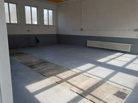 Werkstatt / Halle mit Sektionaltor in Riedlingen mit Freifläche