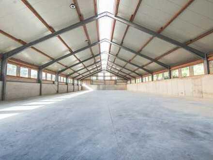 ca. 1.000m² stützenfreie Lagerhalle zu vermieten