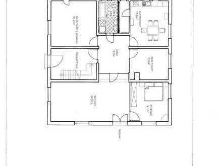 Erstbezug nach Sanierung: attraktive 5-Zimmer-EG-Wohnung mit Terrasse in Radeburg
