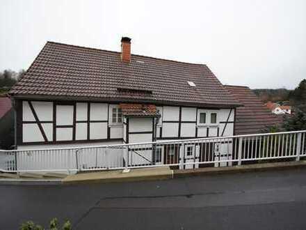 Teilsaniertes Wohnhaus in Suhl-Albrechts