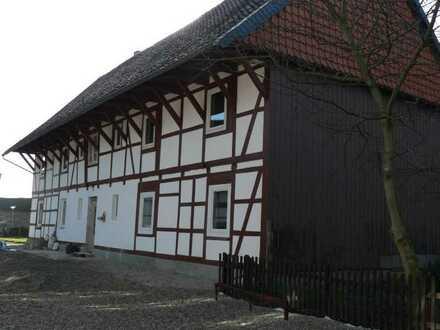 3 Zimmer-Wohnung im Obergeschoss im denkmalgeschützen Fachwerkhaus