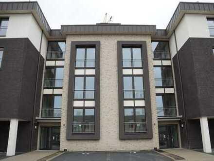 2-Zimmer-Penthouse-Wohnung in Cloppenburg, Erstbezug mit Einbauküche und Dachterrasse