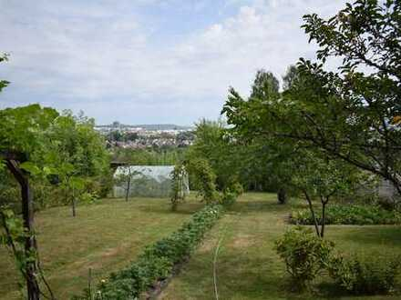 Schönes Gartengrundstück mit Aussicht in Rohr