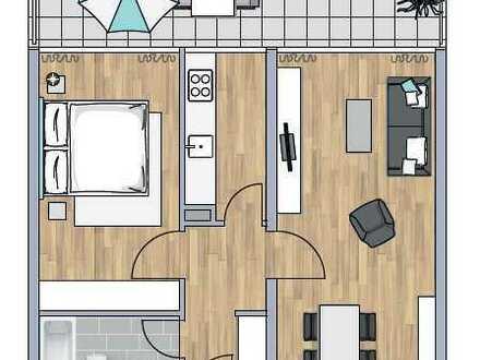 Vermietete 2-Zimmer Citywohnung (K-81373-Bod6)