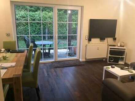 Perfekte 2 Zimmer Wohnung mit zusätzlichen Hobbyraum 2 Ebenen und Terrasse in Pullach Bestlage