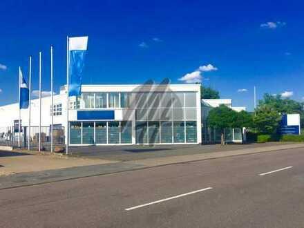 VIELSEITIG NUTZBAR ✓ Lagerflächen (1.100 m²) & Büro-/Sozialflächen (900 m²) zu vermieten