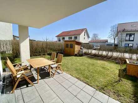 Exklusive, neuwertige 3-Zimmer-Wohnung in Top-Lage mit großem (Süd-)Garten