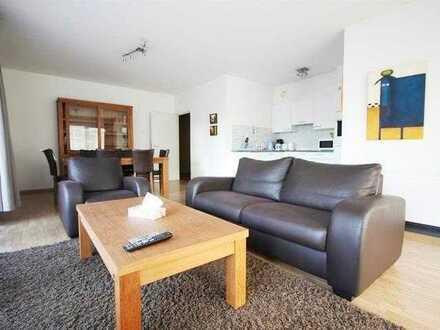 Stilvolle, sanierte 2-Zimmer-Wohnung mit Balkon und Einbauküche in Pfullingen