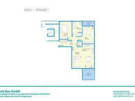 Drei Zimmer EG-Wohnung H2W1
