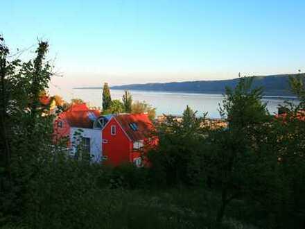 Bauplatz mit traumhafter See- und Alpensicht in fantastischer Lage von Bodman-Ludwigshafen.