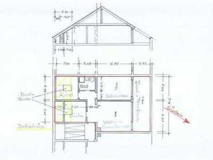 3- Zi. Wohnung mit Dachterrasse