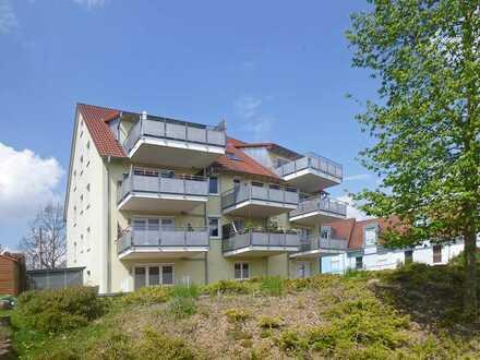 Sehr schöne 3 ZKB-Wohnung mit großem Balkon und Hobbyraum