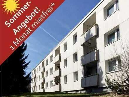+++ 1 Monat mietfrei! 2,5 Zimmer Wohnung mit Balkon im schönen Bad Steben +++
