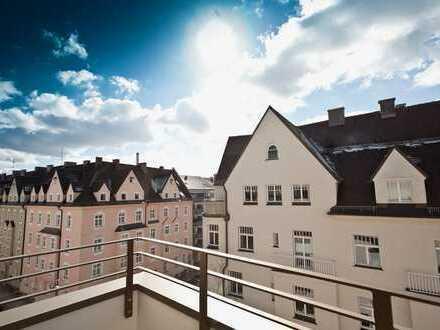 Neubauwohnung in Sendling, 2-Zimmer, Einbauküche und Balkon