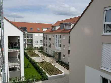 Ideal geschnittene Neubauwohnung mit großem Süd/West-Balkon