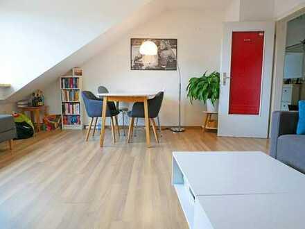 Lichtdurchflutete 2-Zimmer-Wohnung in Milbertshofen