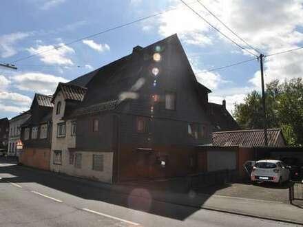 Kreuztal Ferndorf, viel Platz, einfache Ausstattung -guter Preis! Reihenendhaus mit Garage