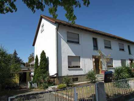 Zwei Häuser für vier Parteien möglich! Doppelhaushälfte + Bungalow in zentraler Wohnlage Viernheim