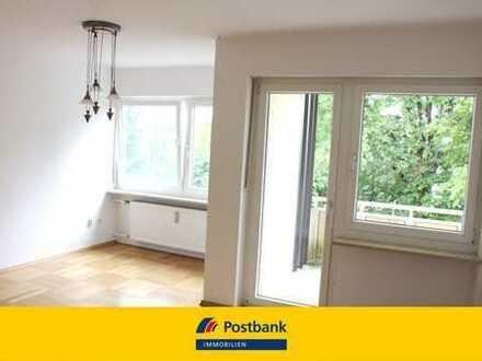 Gemütliche, lichtdurchflutete 2-Zimmer-Eigentumswohnung mit Loggia in Straubing