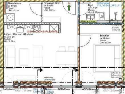 2-Zimmer Neubau Wohnung in Hamburg Bahrenfeld zu vermieten