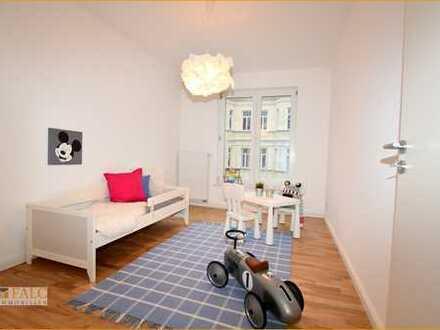 Barrierefreie Vier-Zimmer-Traumwohnung mit Parkett, Balkon, Fahrstuhl & Tiefgarage!