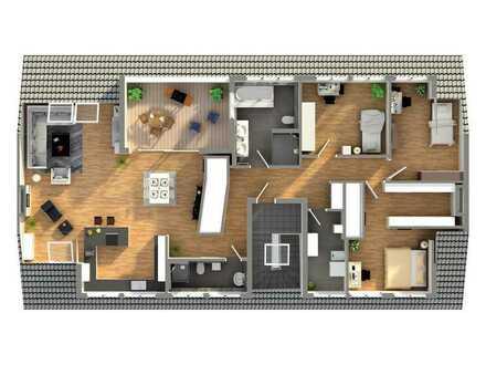 Exklusives Dachgeschoss in der List (noch in der Planungsphase)