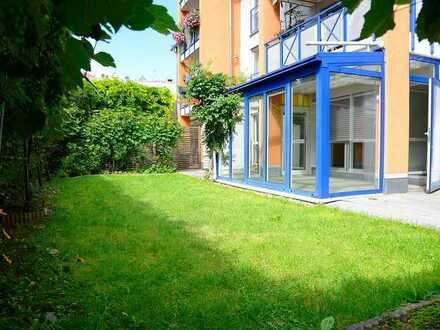 Juwel in Nürnberg/Wöhrd: 3 Zimmer Wohnung mit eigenem Garten in bester Wohnlage