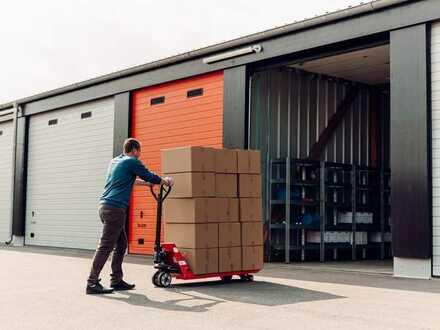 Moderne XXL Garagen & Lagerräume zu vermieten | Einfach zu mieten