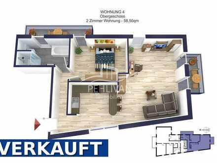 Neubau | 2- Zimmer Eigentumswohnung mit zwei Balkonen