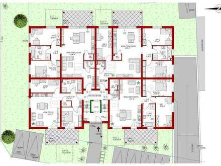 Große Erdgeschoss-Wohnung - Erstzbezug