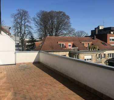 Schöne loftähnliche Wohnung mit Balkon und Einbauküche in Dortmund