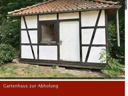 Fachwerk-Gartenhaus zu verkaufen gegen Abholung aus Minden