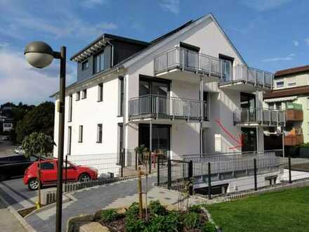 Erstbezug: altersgerechte exklusive 3-Zimmer-Erdgeschosswohnung mit Garten in Heimsheim