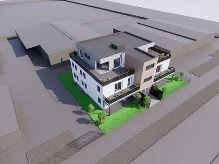 Neubau Erstbezug: exklusive 3-Zimmer-Penthouse-Wohnung mit Dachterrasse in Worms