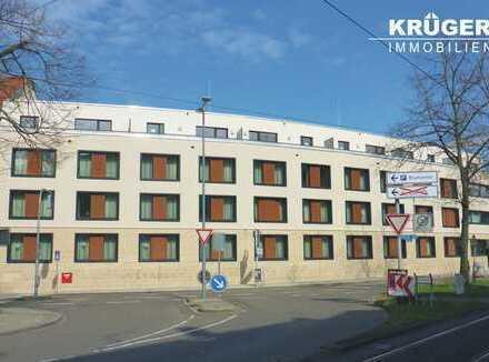 KA-Durlach / barrierefreie 2-Zi.-Penthouse-Whg. mit Terrasse, EKB und Ausblick auf den Hengstplatz