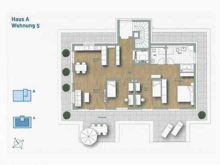 4,5-Zimmer-Wohnung - Wohnung 5 Attika