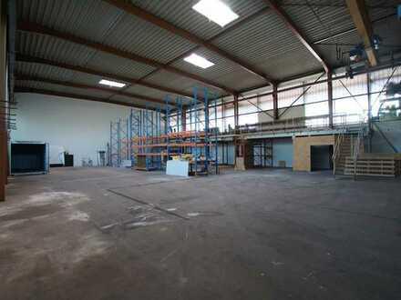 PROVISIONSFREI Bürokomplex mit Ausstellungsfläche und Hallen-Werkstattfläche ab sofort zu vermieten.