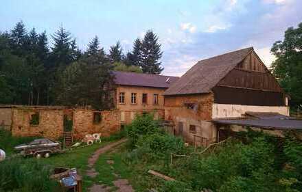 Ehemalige Orthenberger Mühle mit direktem Zugang zur Nahe 60Meter Ufer