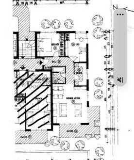 Geschmackvolle 3-Raum-Wohnung mit Balkon und Einbauküche in Calw