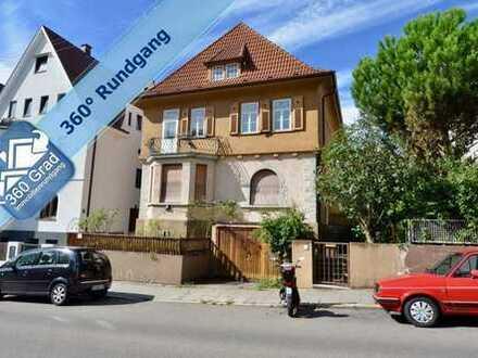 Historisch bedeutende Bankiersvilla in zentraler Lage von Zuffenhausen