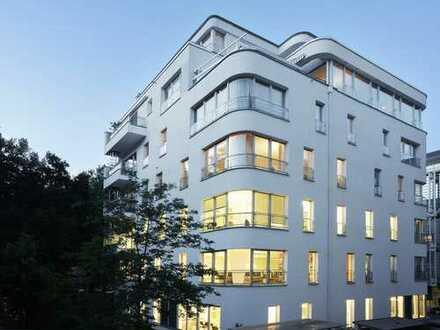 Zentrales Lehel: Moderne Bürofläche (150 qm, 1. OG) im Futurhaus, minimale NK, provisionsfrei