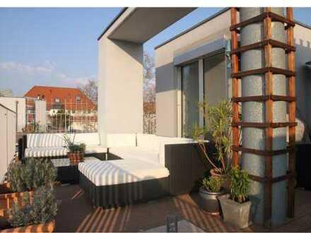 Luxusimmobilie mit traumhafter Dachterrasse und bester Leipziger Lage