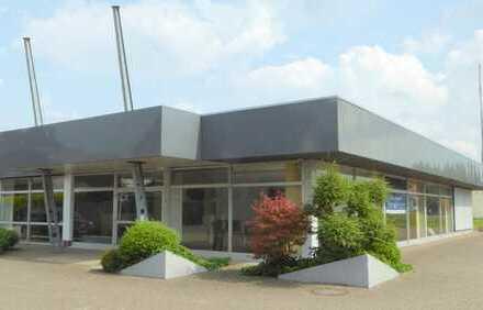 Großzüg.Gewerbefläche mit Option zur Anmietung einer neu zu erstellenden Gewerbehalle in Bad Zw´ahn