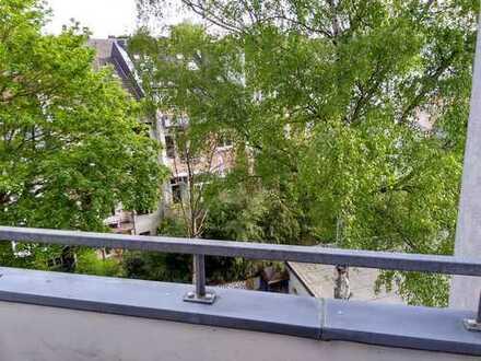 Gemütliche 2-Zimmer-Wohnung mit Balkon am Rand des Frankenberger Viertels