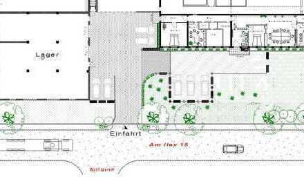 Lager-/Werkstatt mit mod. Bürobereich ideal für Handwerks- oder Kleingewerbe
