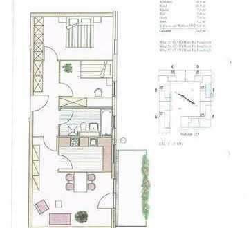 Klasse 3 Zimmer Wohnung mit schönem Balkon in idealer Wohnlage in Dachau